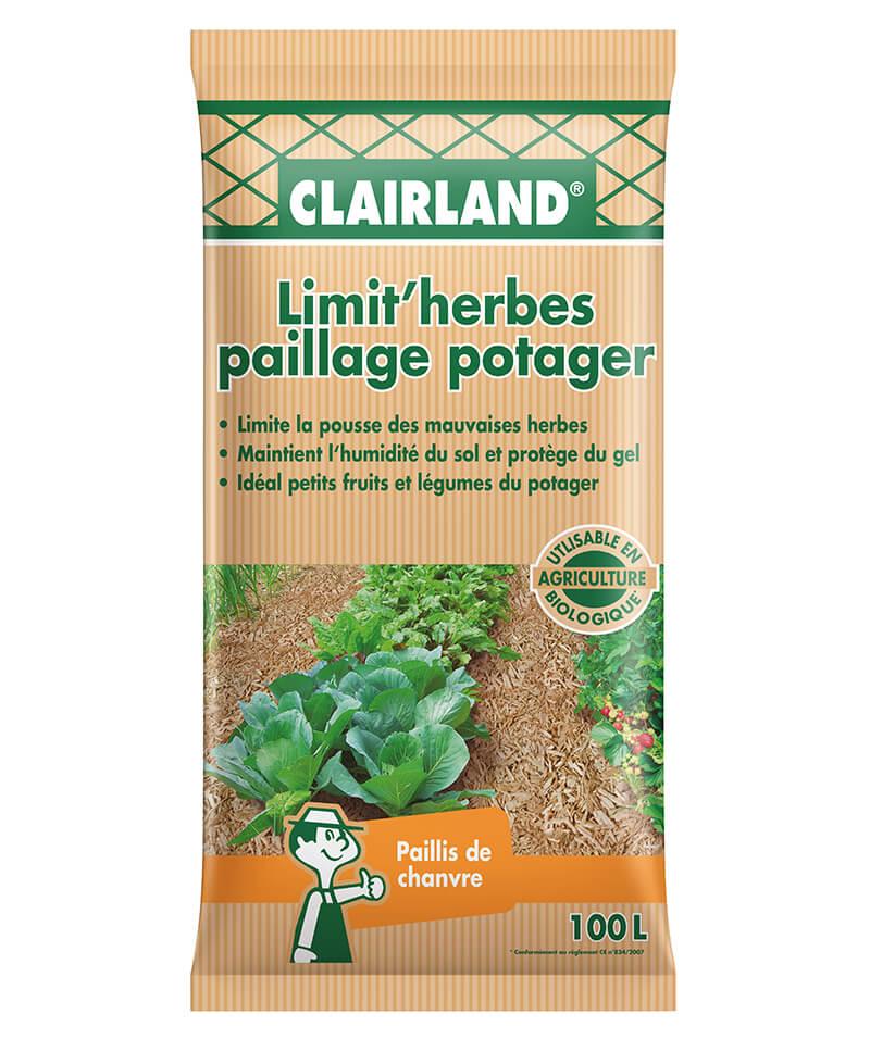 Paillage Limit'herbes Paillage du potager Chanvre