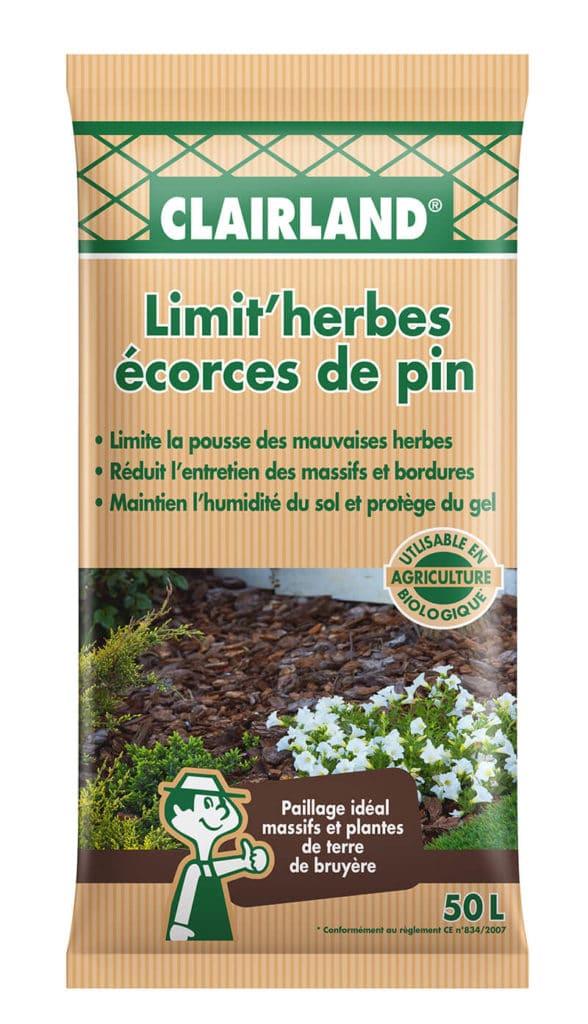 Paillage Limit'herbes Ecorces de pin
